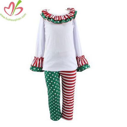 Baby Kids Christmas Pattern Pants Sets