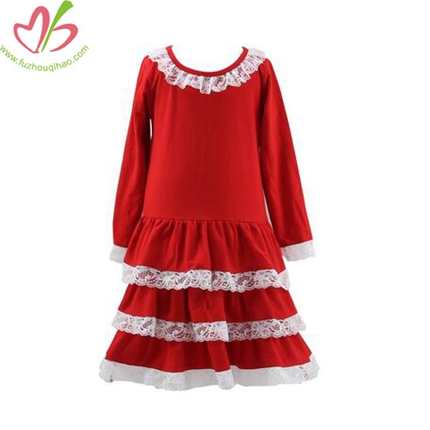 Lacing Ruffle Princess Dress