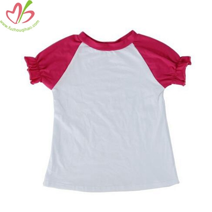Raglan Sleeves White Tshirt