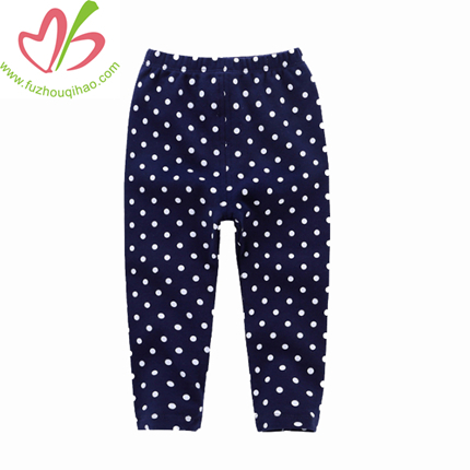 Dot Printing Girl Leggings, Girl Cotton Pants, Girl Bottoms