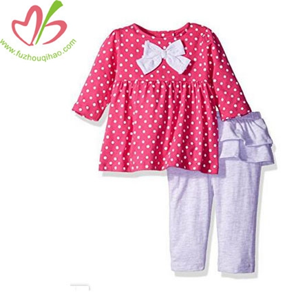 Baby Girls' 2 Piece Top and Skegging Pant Set