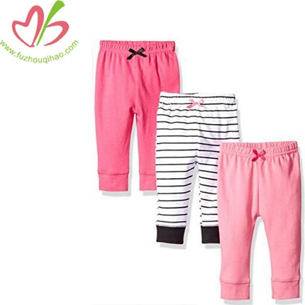 Baby Girls' 3 Pack Tapered Ankle Pant