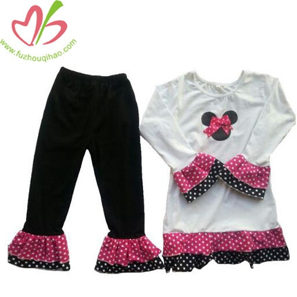 Children Micky Mouse With Bow-Knot Sets