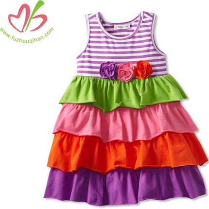 Summer Tiered Cake Ruffle Dress