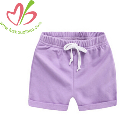High Qulity Girl's Solid Shorts