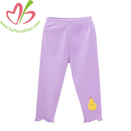 Fashion and Comfortable Kid's Solid Leggings