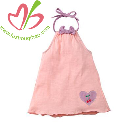 Cute Girl's  Pink Pillowcase Dresses