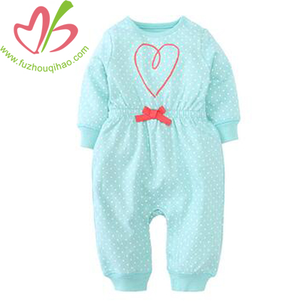 Tiffiny Color Baby Girl's Long Jumpsuit