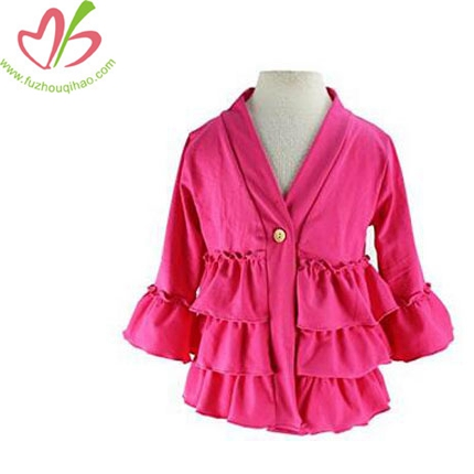 Springs Child Cotton Ruffle Jacket Outerwear