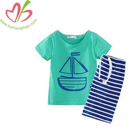 Boys' Clothing Short Sets Striped