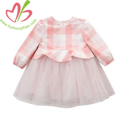 Girl's Pink Color Princess Dresses, Girl's Tutu Dressesm Girl's Beautiful Chiffon Dresses