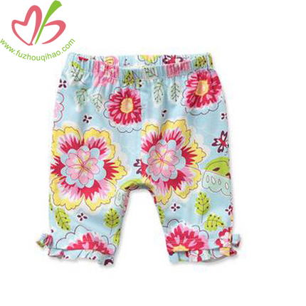 Beautiful Baby Girl's Floral Shorts