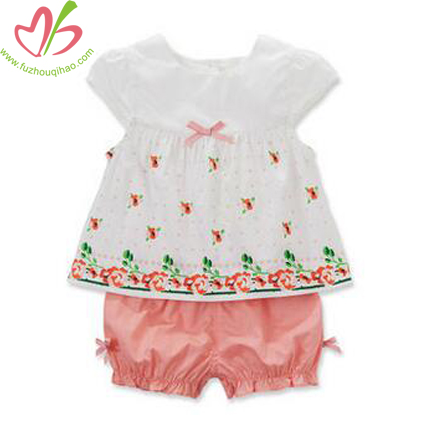 Beautiful Cotton Baby's Short Sets