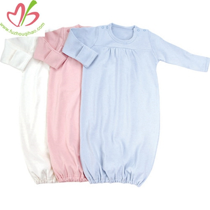 Long Sleeves Baby Sleep Gowns