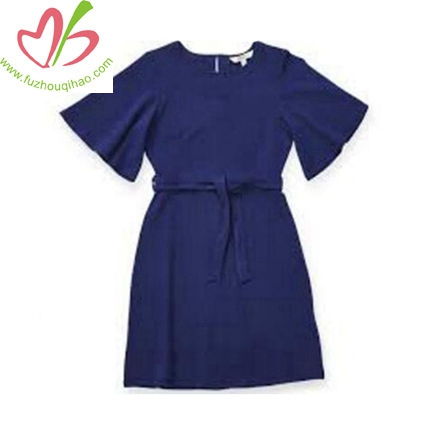New Arrival Blue Girls Dress