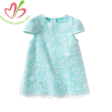Beautiful Girl's Tiffany Color Tunic