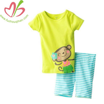 Wholesale Boy 2pcs Short Cotton Oufit