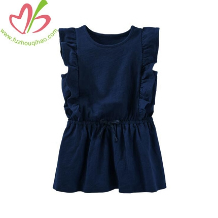Ruffle Sleeve Tunic Baby Girl Clothes
