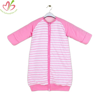 Pink Children Zipper Cotton Sleepbag