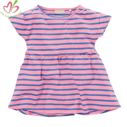 Whotesale Girl's Stripe Tunic Blouse