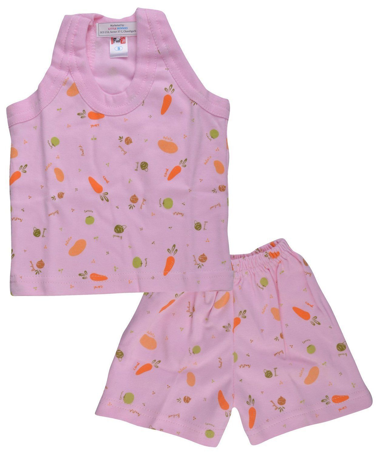 Baby Girl Boy Cotton Summer Set Clothes