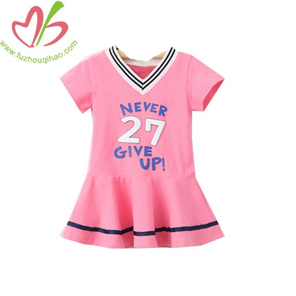 Princess Girls Sportswear V-neck Dress