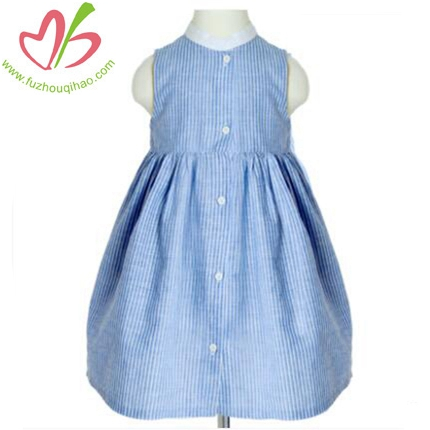 New Girl's Vest Dress Cotton Dress Of Literature And Art