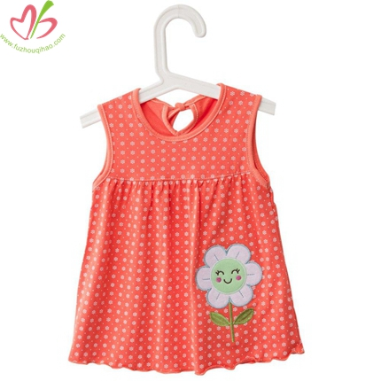 Polkadot Full Printing Infant's Tank Top