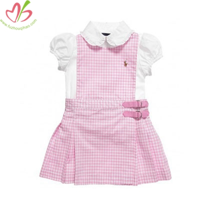 100% Cotton Woven Children Dress
