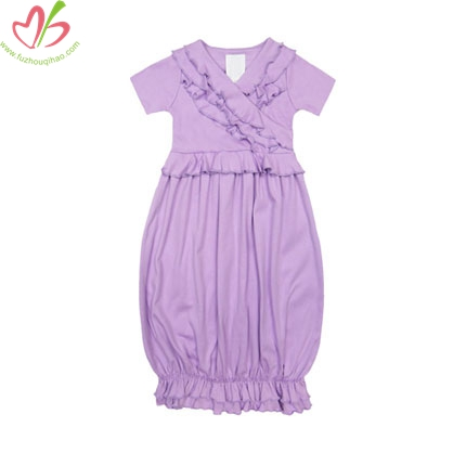 Lavender Baby Girl's Nightgown
