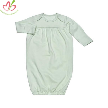 Plain Wholesale Unisex Baby Gown