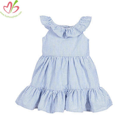 Chic Children's Dress with Full Bottom