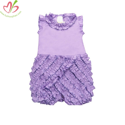 Lavender Baby Ruffle Bubble