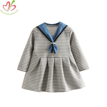 Sailor Style Kids Dress