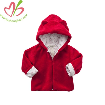 The Bear Baby Clothes Coral Fleece Jacket