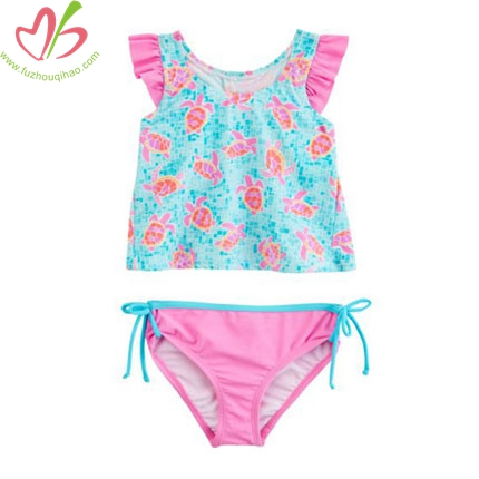 2 pcs Children Girl's Swimsuits