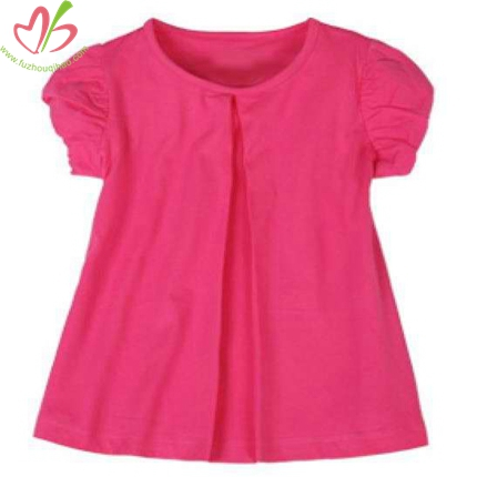 Puff Sleeves Kids Tunic Top