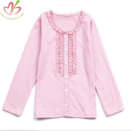 Colorful Long Sleeves Children Girl's Top