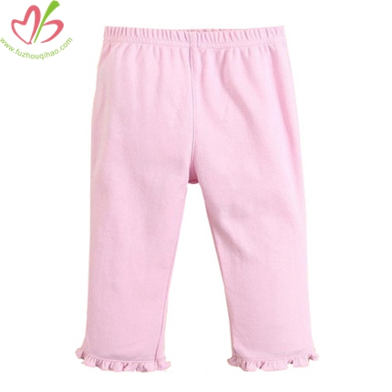 Strawberry Applique Little Girl's Legging