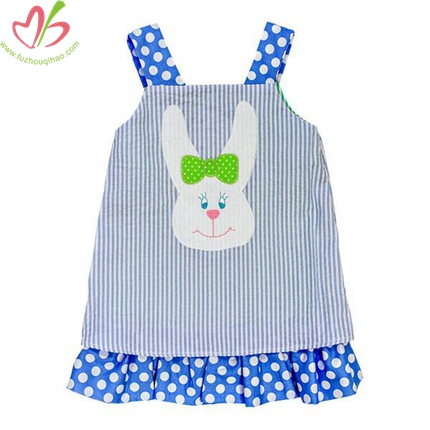 Bunny Applique Baby's One Piece Clothes