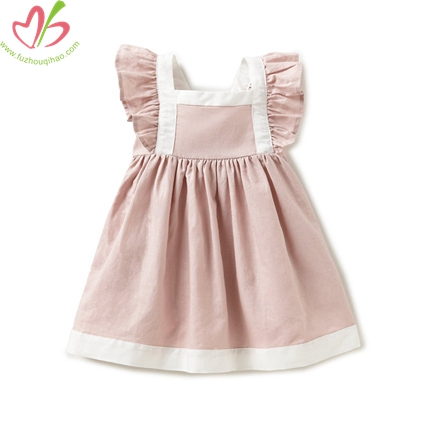Woven Little Girl's Dress