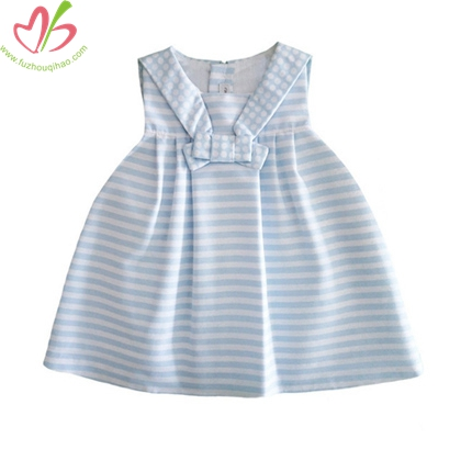 Sailor Style Baby's Girl's Tunic