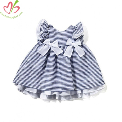 Lovely Stripe Baby Dress
